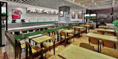 快餐店如何在1年内赚到100万