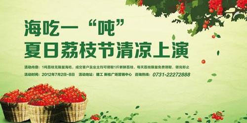 上千斤荔枝的全城轰动性营销方案