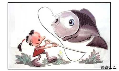 """免费商业模式设计,如何设计""""鱼钩""""和""""鱼饵"""",让客户主动买单!"""