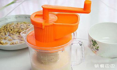 豆浆机免费送案例