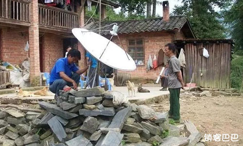卫星电视免费模式:如何垄断周边村镇,绑定后端的消费赚更多钱