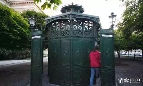 公厕的免费模式